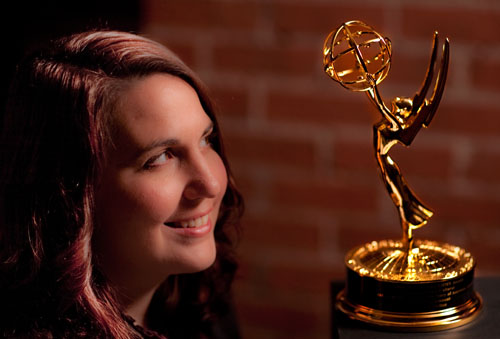 Deana with Emmy